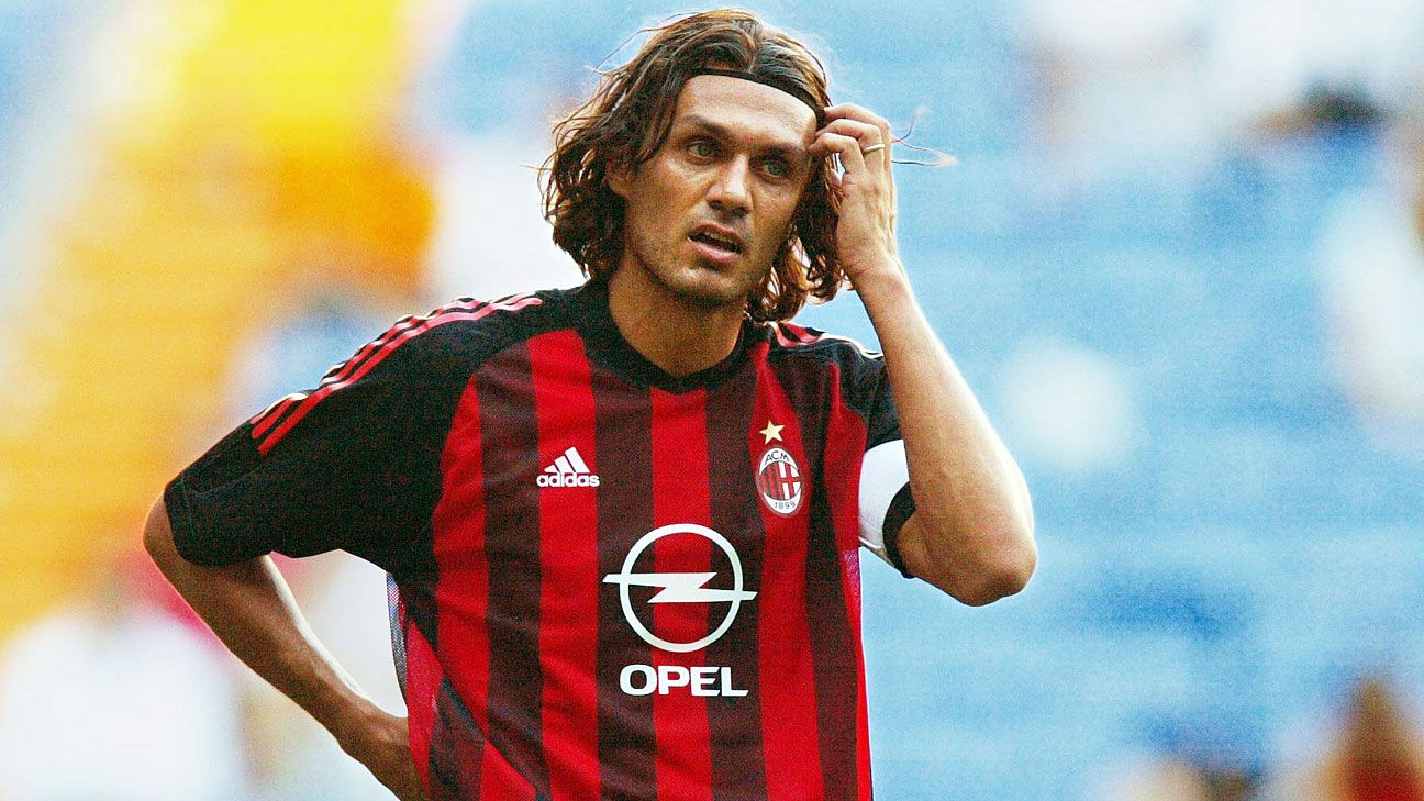 Paolo Maldini's professional tennis debut ends in lopsided defeat