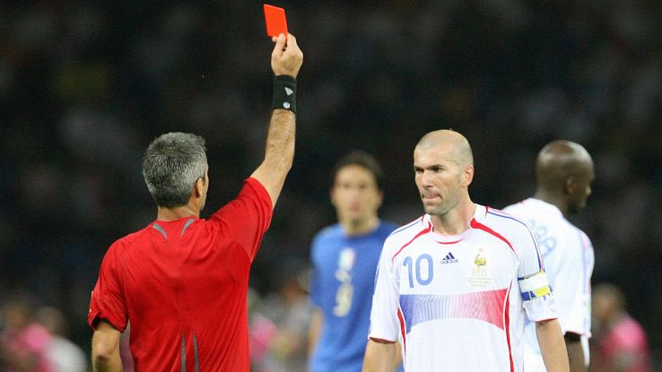Despite the ignominious end to his career, Zidane was named best player of the 2006 World Cup.
