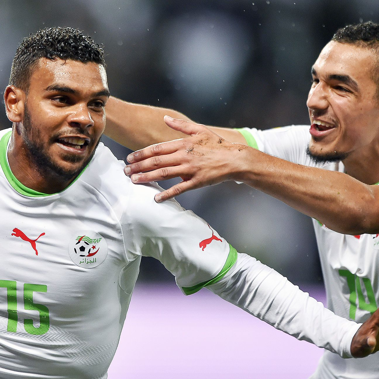 El Arbi Soudani's winner versus Romania sends Algeria off on a high to Brazil.