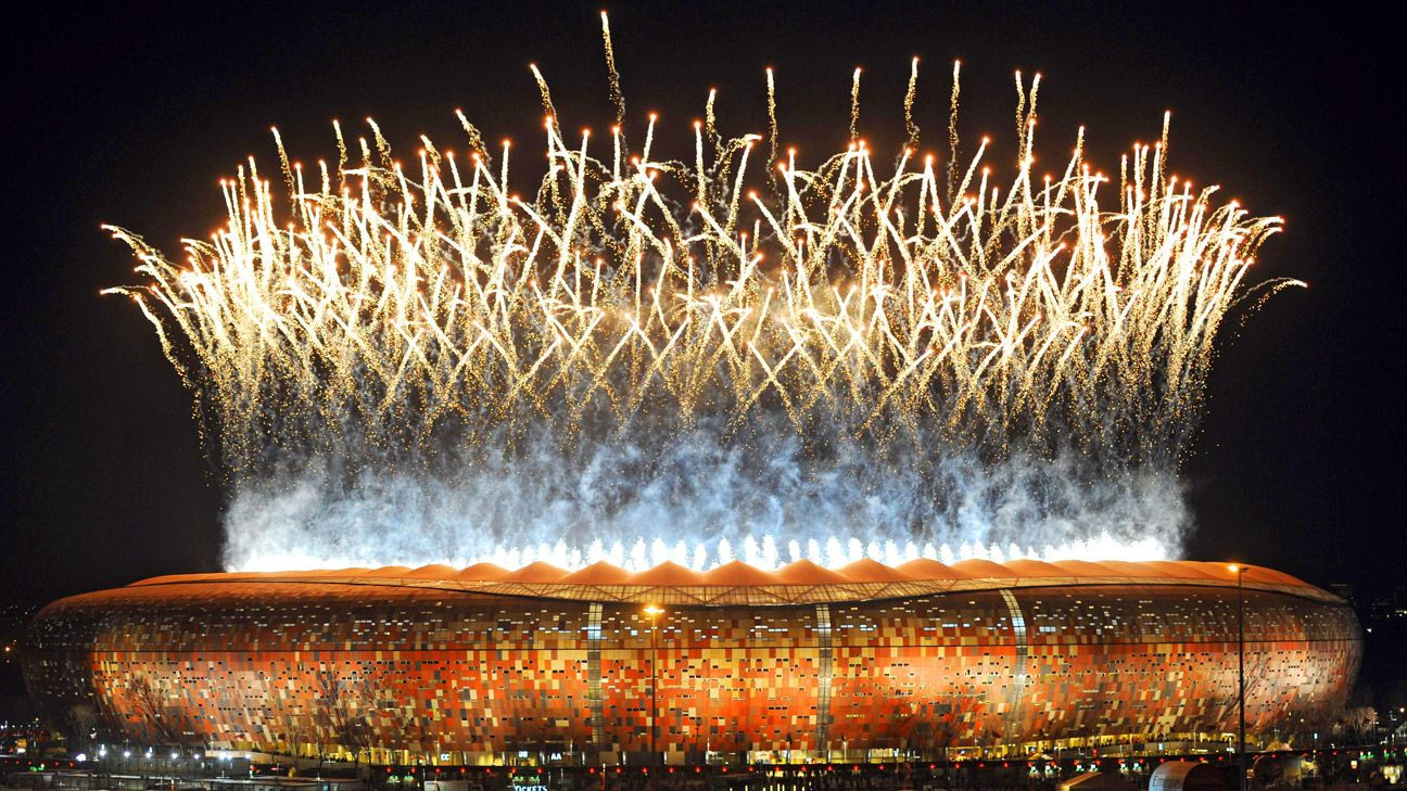 Soccer City Stadium in Soweto was the site of the first ever World Cup final played in Africa.