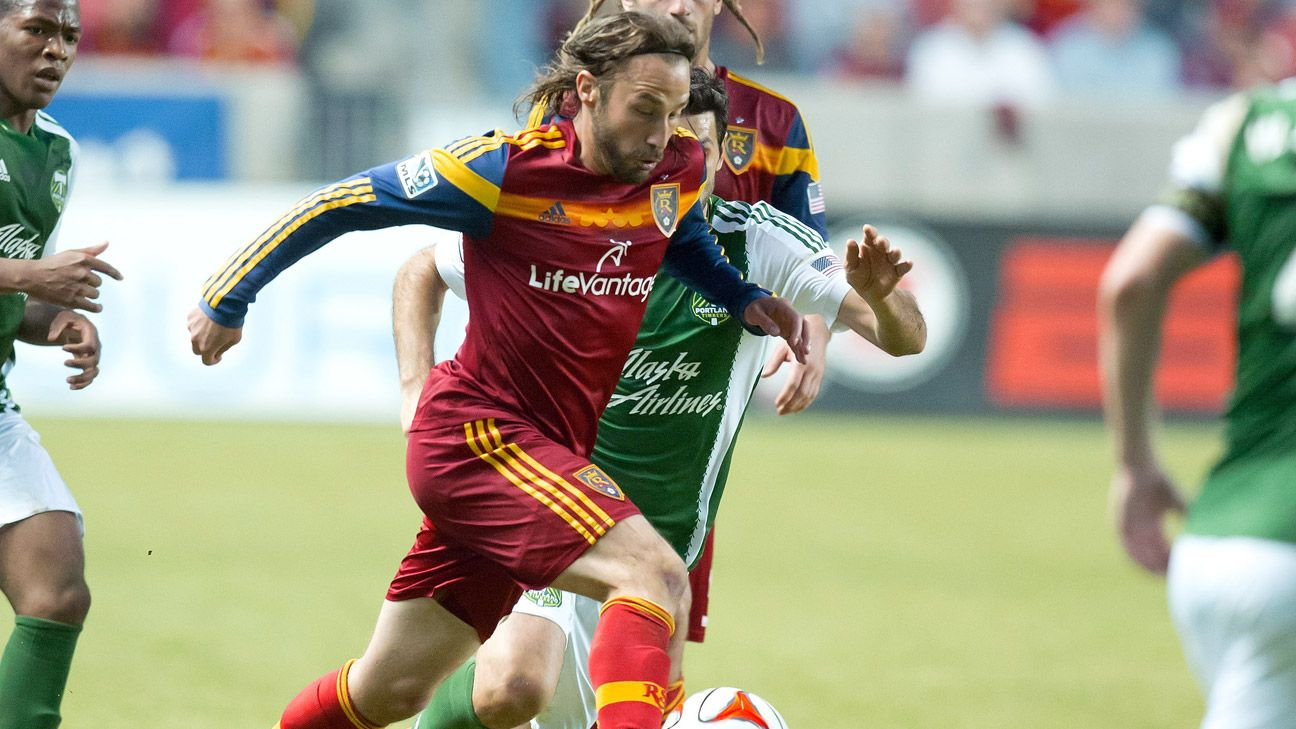 Ned Grabavoy scored the winner in April, the previous time RSL played Portland.