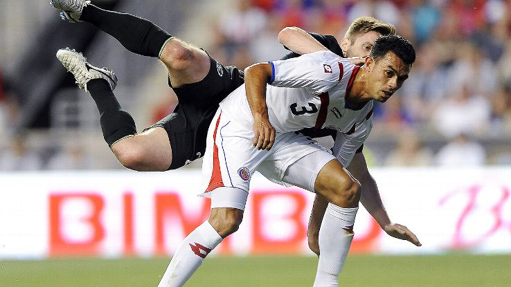 Costa Rica were able to overcome Giancarlo Gonzalez's red card and earn a draw versus Ireland.