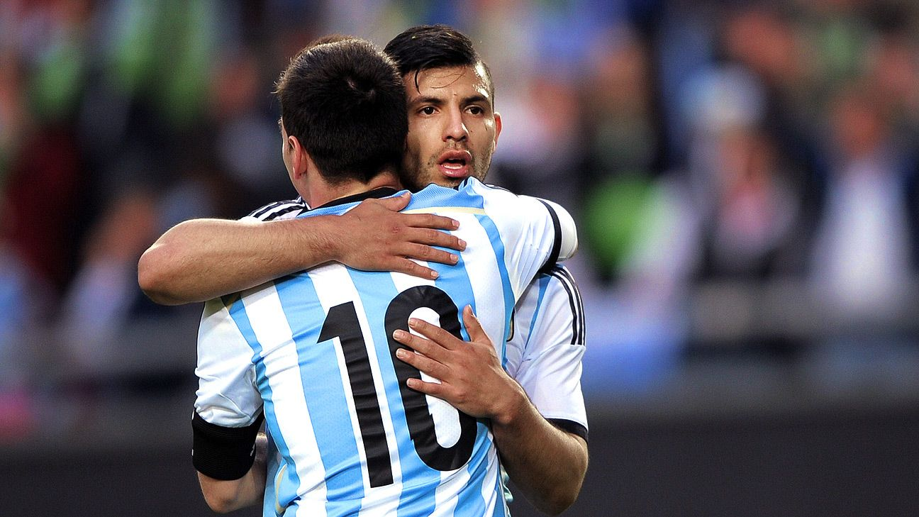 Always the second option, Sergio Aguero's quite content to support and do whatever it takes to win.