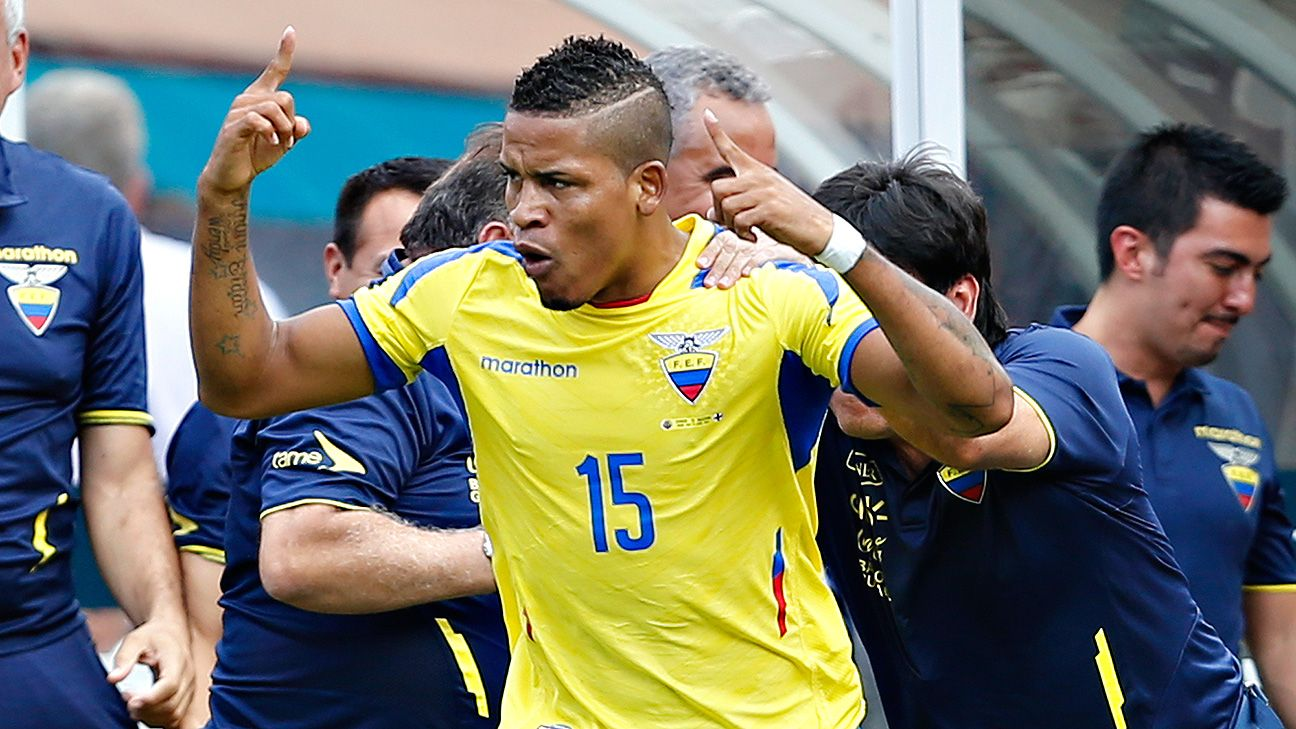 Michael Arroyo could be the one to provide the scoring spark Ecuador need at the World Cup.