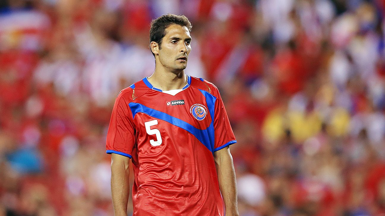 Celso Borges is a stable presence in midfield for Costa Rica.