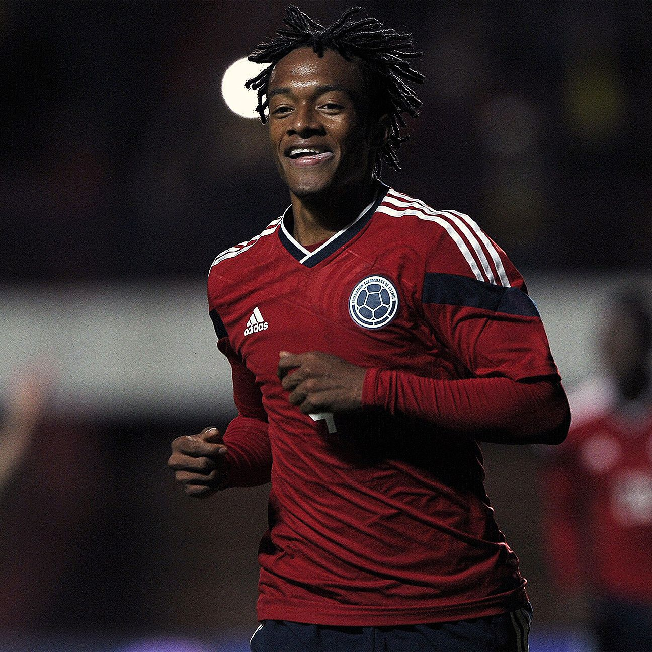 Juan Cuadrado converted a late penalty to help seal Colombia's win over Jordan.
