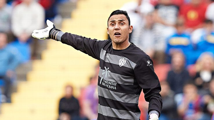 Keylor Navas is an up-and-coming goalkeeper sure to dazzle for Costa Rica this summer.