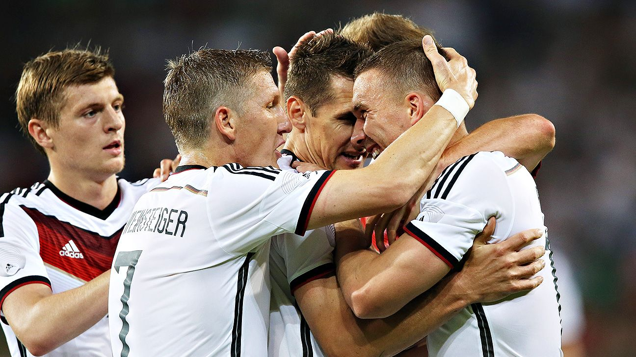The lead-up to the World Cup could have been better for Germany but there's plenty for them to build on.