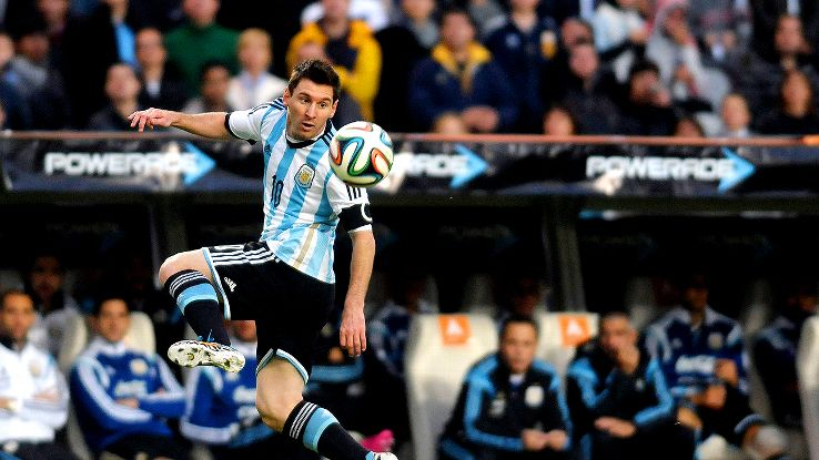 Argentina's Lionel Messi failed to score at the 2010 World Cup in South Africa.