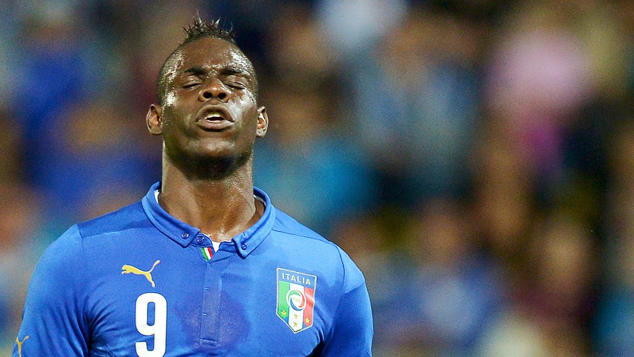 Mario Balotelli has endured a dry spell for Italy, but he's not gotten the support he deserves.