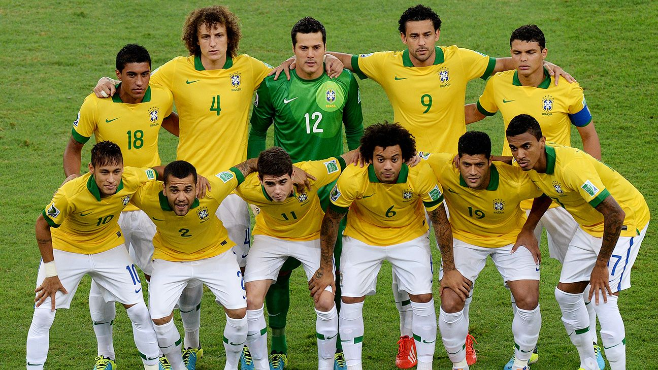 Host Brazil has qualified for every edition of the World Cup.