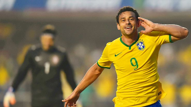 Fred is Brazil's only domestically based outfield player.
