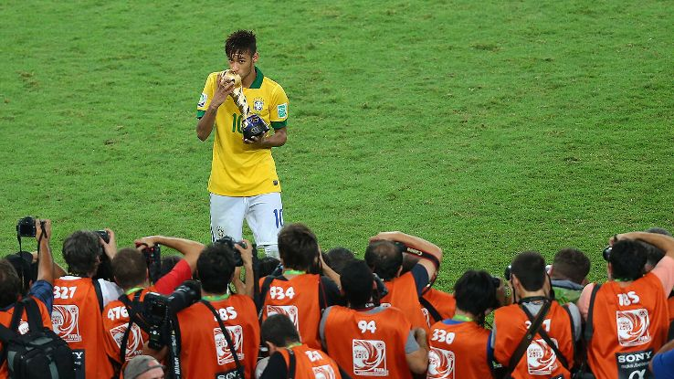 With the weight of a nation on his shoulders, this summer will do much to define Neymar's eventual legacy.
