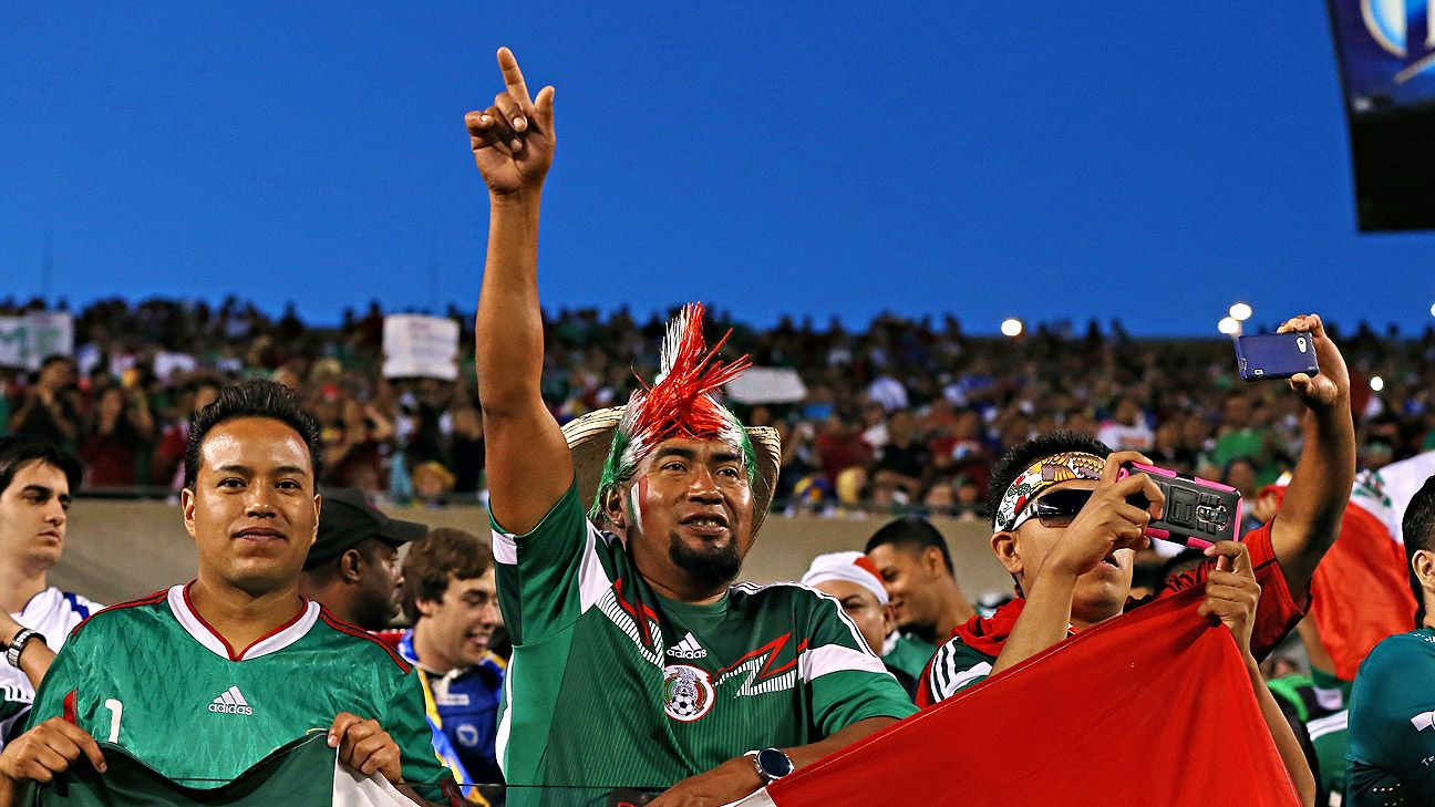 Mexico fans are renowned for their loyalty to their national team.