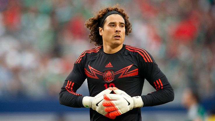Guillermo Ochoa has been Mexico's backup goalkeeper at the previous two World Cups.