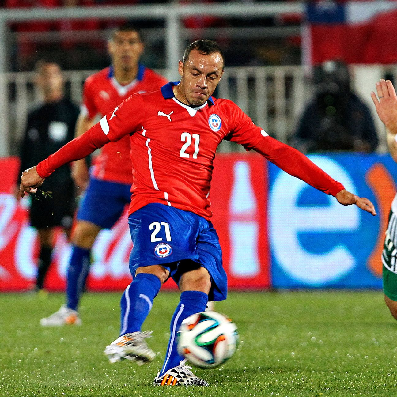 Marcelo Diaz has emerged as Chile's midfield maestro.
