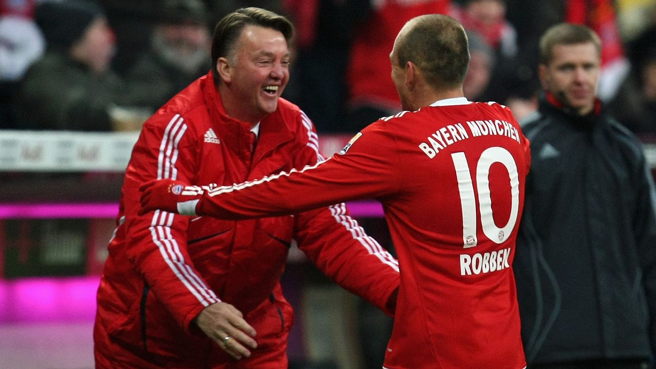 Van Gaal and Robben have worked together for club and country. Might the soloist be key to Dutch fortunes in Brazil?