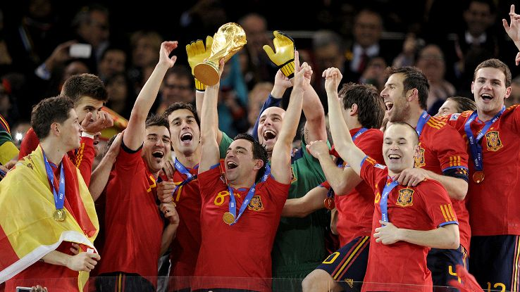 Xavi has led Spain to unprecedented success on the international stage.
