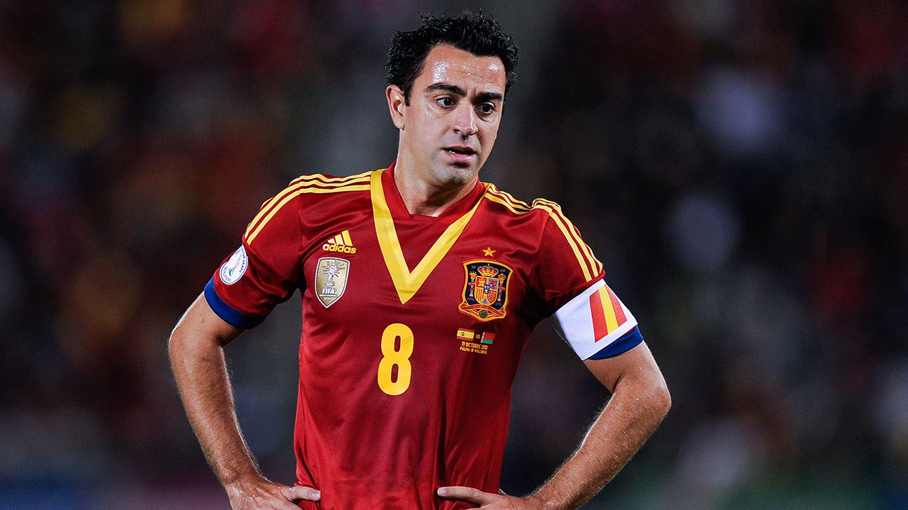 Xavi is Spain's bedrock in midfield, the one man for whom Vicente del Bosque has yet to find an adequate replacement.