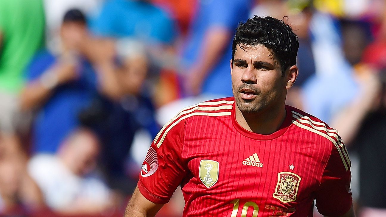 Diego Costa's physical presence gives Spain an added wrinkle in attack.