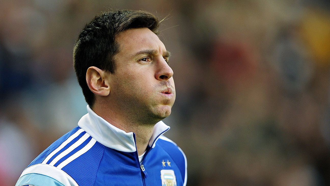Coming off a difficult year at Barcelona, Lionel Messi has the weight of Argentina on his shoulders.