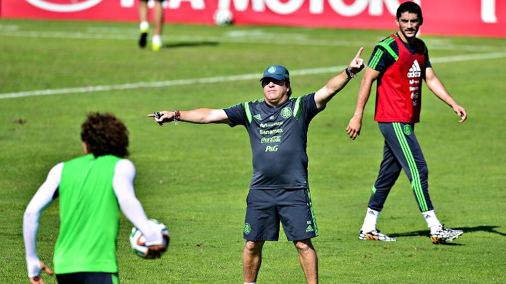 Mexico fans hope head coach Miguel Herrera can direct El Tri toward a deep run at the World Cup.