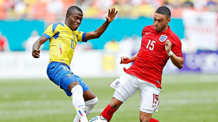 Enner Valencia scored 18 goals in 23 games for Pachuca this season. Can he be prolific for Ecuador in Brazil?
