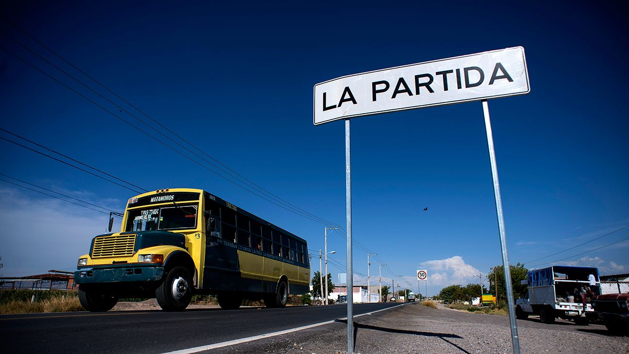 La Partida is a farming village of 3,798 residents.