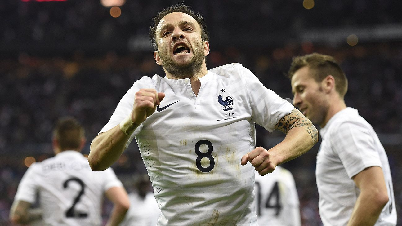 With the absence of Franck Ribery, Mathieu Valbuena will be France's playmaker.