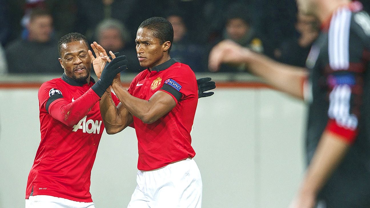 Fixtures on the wings of Manchester United, Patrice Evra and Antonio Valencia will go head-to-head in Brazil.