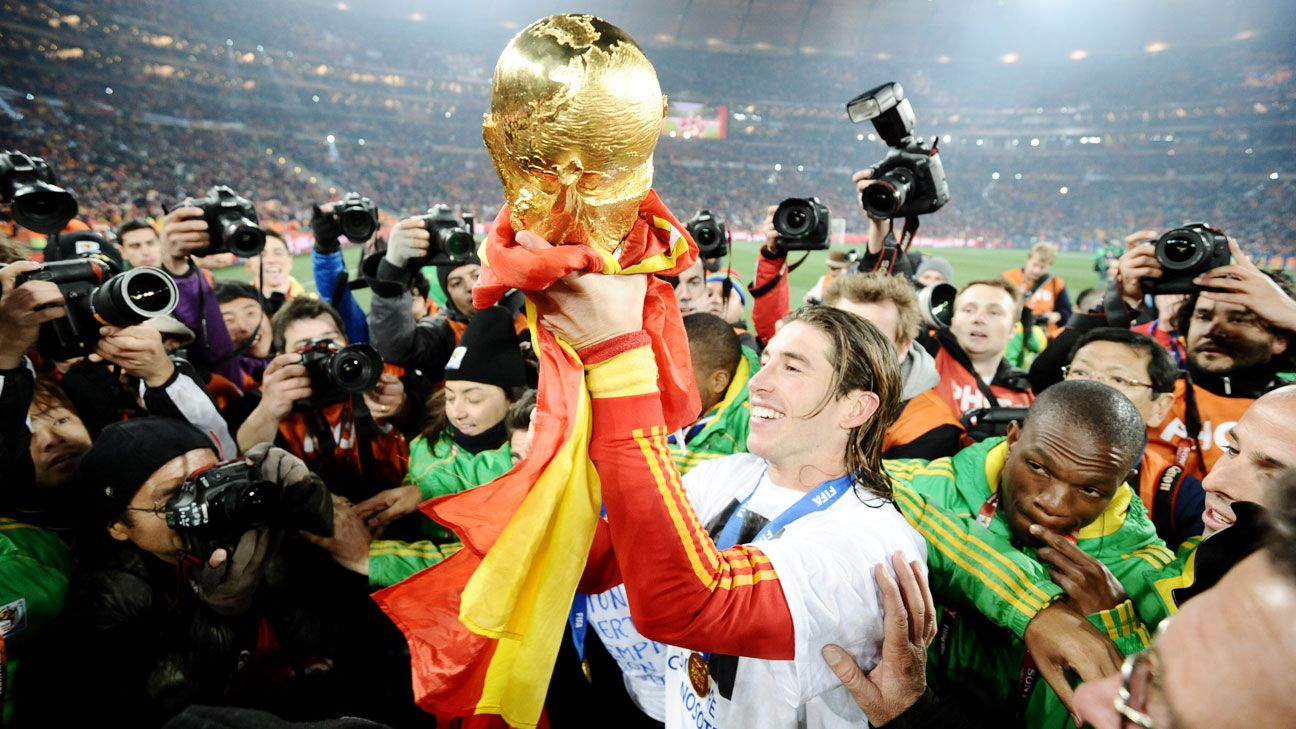 Given Diego Costa's lack of full fitness, it's unlikely that Sergio Ramos and Spain can repeat their heroics from 2010.