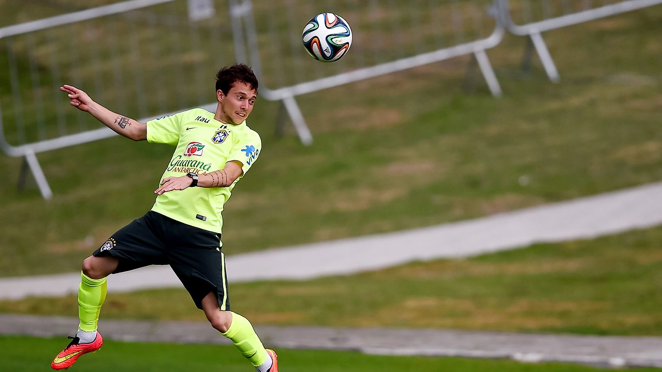Should Brazil need a spark in a match, Bernard is likely the man who gets that shot.