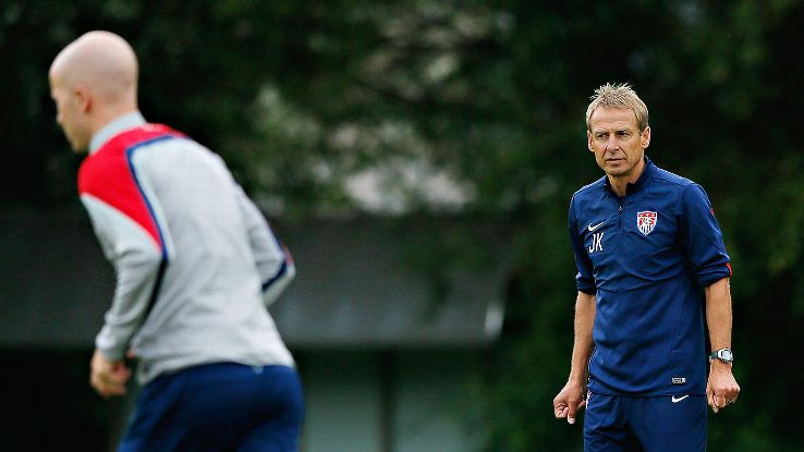 Jurgen Klinsmann has Michael Bradley and the U.S. focused on Ghana.