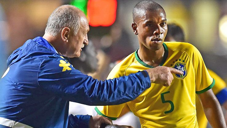 Fernandinho's effective midfield play gives Brazil options off the bench this summer.