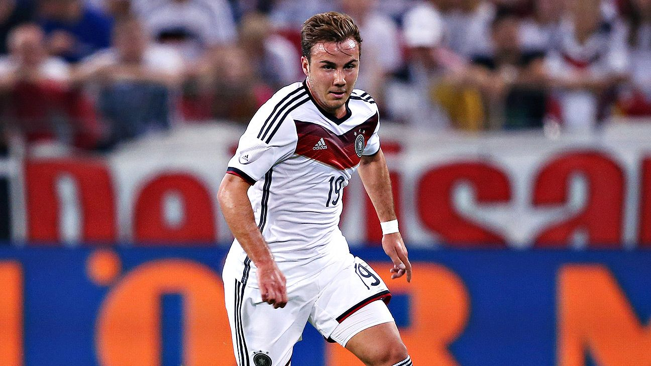 Mario Goetze has supreme technical ability, but an out-and-out striker he is not.