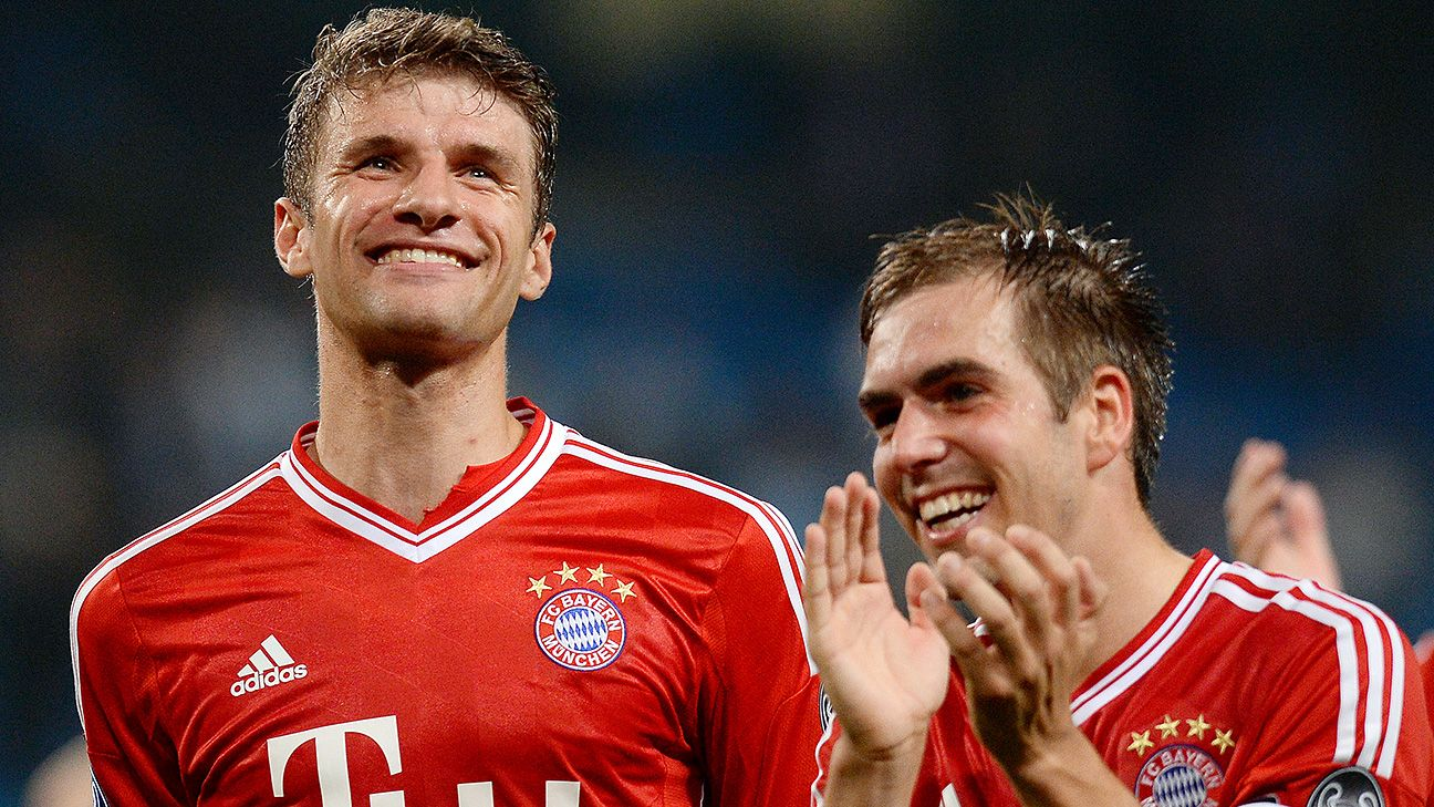 Bayern Munich pair Thomas Mueller and Philipp Lahm have each inked long-term extensions that will keep them at the club for years to come.