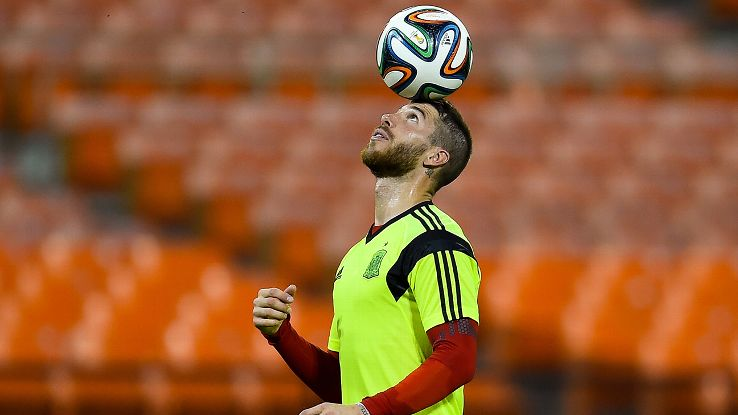 Sergio Ramos struggled vs. the Dutch but can threaten and dominate Chile at both ends of the pitch.