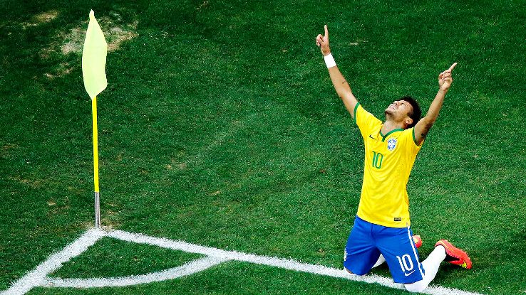 Neymar Starts The Party