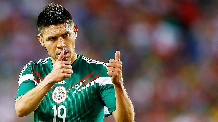 Oribe Peralta is set to play for Mexico in his first World Cup.