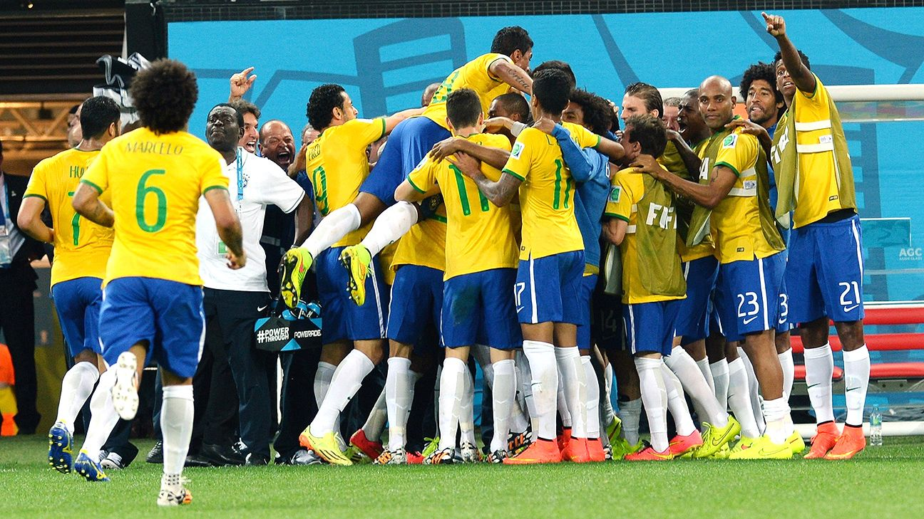 Brazil's World Cup campaign started off in celebratory fashion.