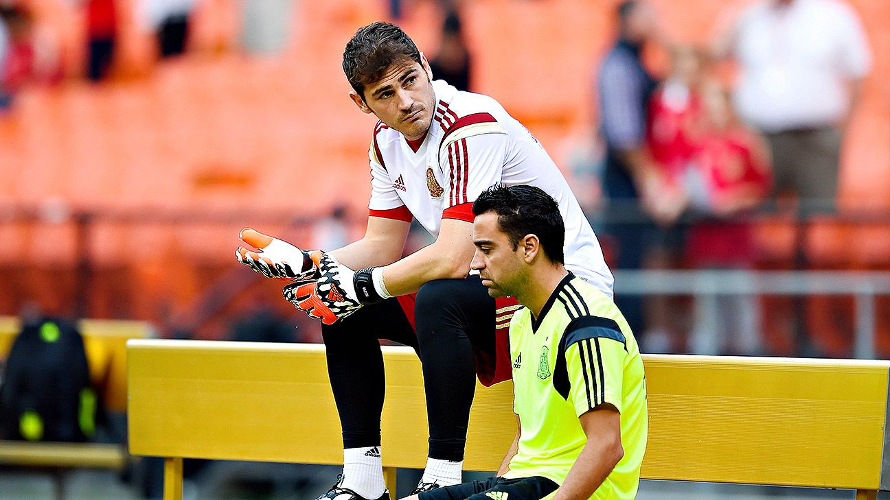 Brazil will very likely be the final World Cup for Iker Casillas and Xavi.