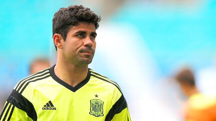 Diego Costa looked out of sync with his Spanish teammates against the Netherlands.