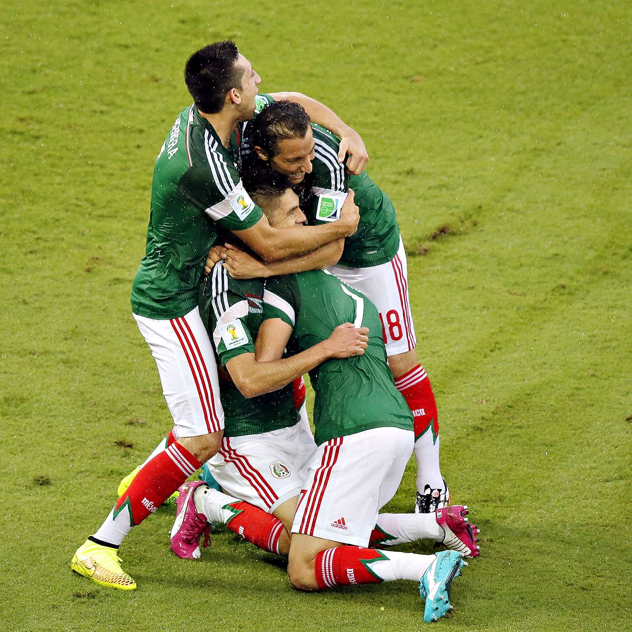 Mexico head into next week's clash with Brazil with three precious points in their pocket.