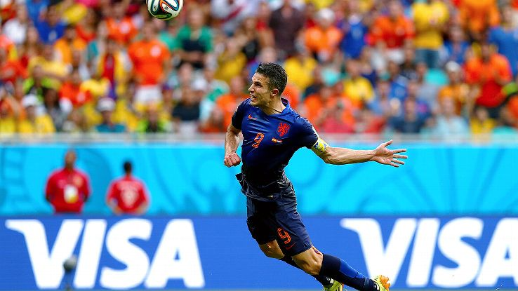 Robin van Persie's flying header versus Spain is one of the several standout moments at the World Cup thus far.