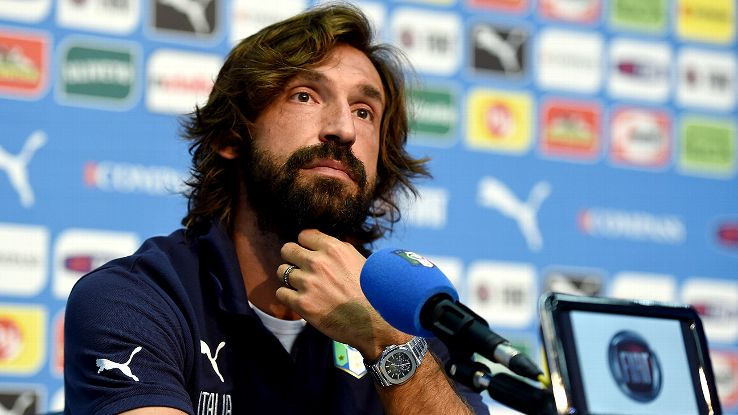 Andrea Pirlo's economical play will prove beneficial in the heat of Manaus.