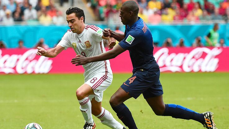 Xavi will be given a chance to redeem himself, but who will partner him in midfield?