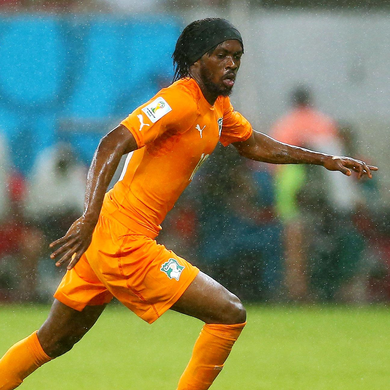 Gervinho scored the Ivory Coast's winner against Japan.