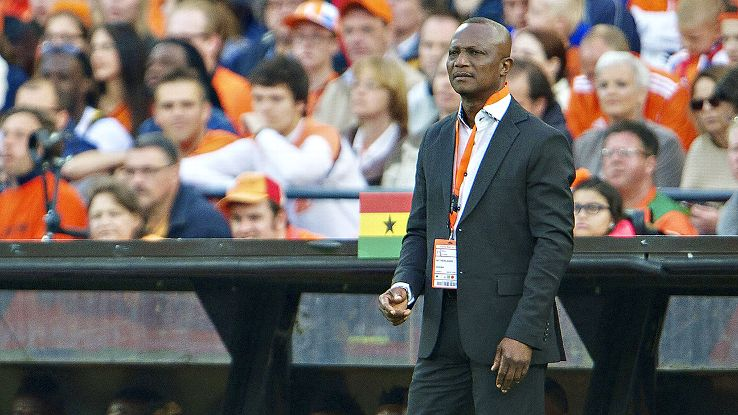 Kwesi Appiah hopes to guide Ghana to a third straight win over the United States.