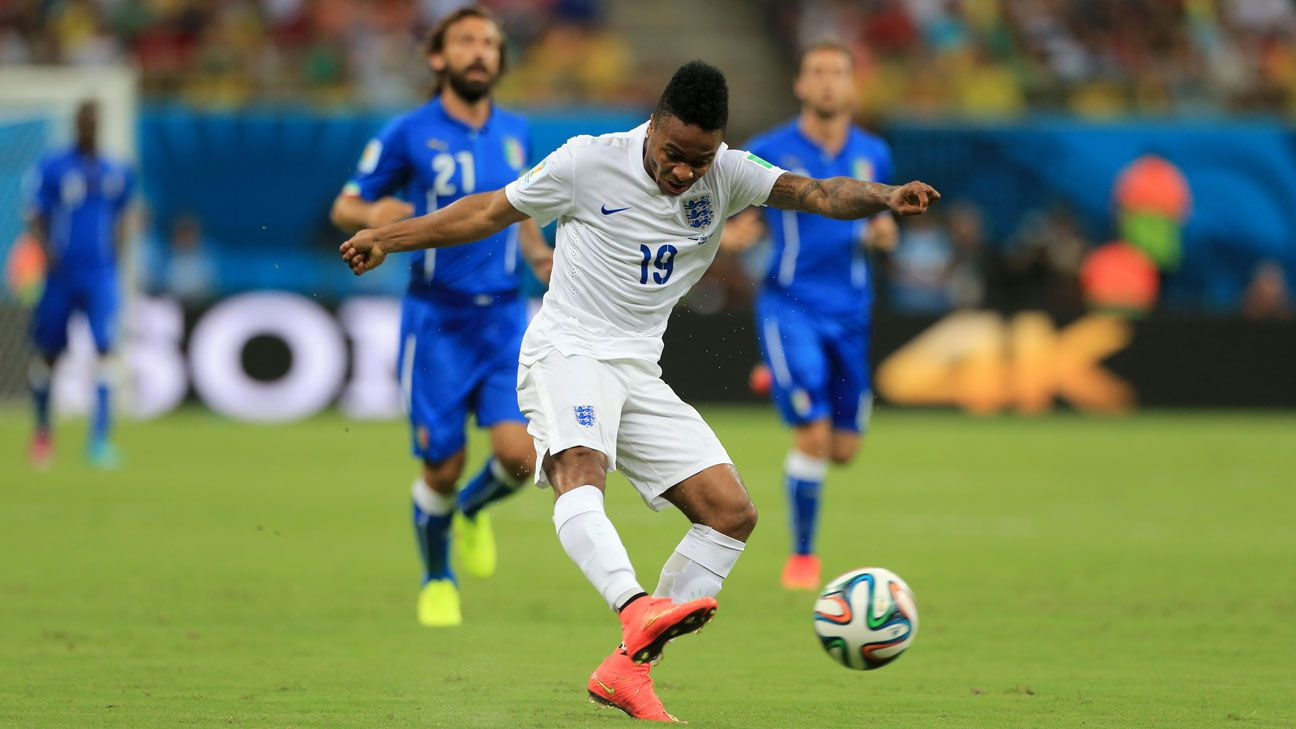 Raheem Sterling could end up stealing the spotlight away from Liverpool teammates Daniel Sturridge and Luis Suarez when England face Uruguay.