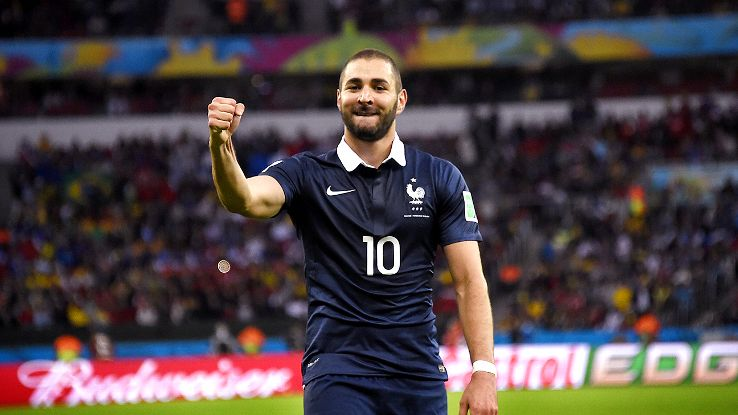 Karim Benzema has been France's best player in the World Cup.